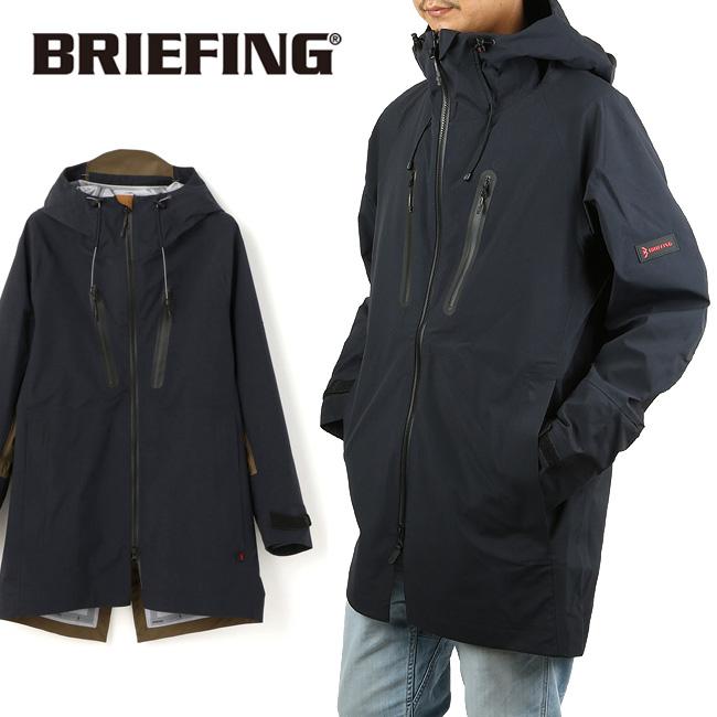 【服】 BRIEFING ブリーフィング CORDURA×eVent SLIDING WP FISHTAIL SHELL スライディングフィッシュテイル シェル BRM193M02 【フード/長袖/アウター/ウェア/ジャケット】