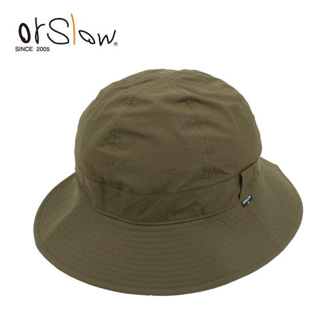 ● Orslow オアスロウ US NAVY NYLON HAT ARMY ネイビーハットアーミー 03--020-N76 【アウトドア/バケツハット/ユニセックス】