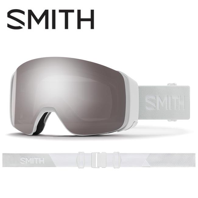 ● 2020 スミス SMITH OPTICS 4D MAG White Vapor CP Sun Platinum Mirror / CP Storm Rose Flash 010260011 【ゴーグル/日本正規品/ジャパンフィット/アジアンフィット】