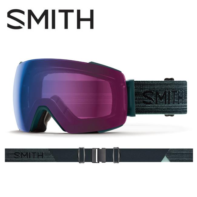 ● 2020 スミス SMITH OPTICS I/O MAG Deep Forest CP Photochromic Rose Flash 【調光】 / Clear 010260033 【ゴーグル/日本正規品/ジャパンフィット/アジアンフィット】