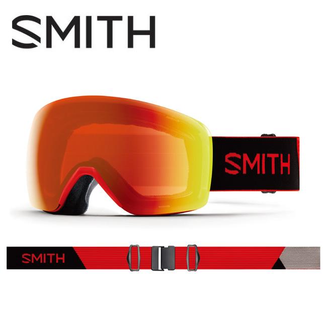 【期間限定カード決済で更に+P7倍10/4 20時~】2020 スミス SMITH OPTICS Skyline Rise CP Everyday Red Mirror 010260082 【ゴーグル/日本正規品/ジャパンフィット/アジアンフィット】