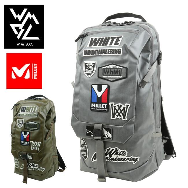 W.M.B.C ダブルエムビーシー WM×MILLET ミレー コラボ BACKPACK バックパック WM1973821 【バッグ/リュック/アウトドア/鞄/White Mountaineering】