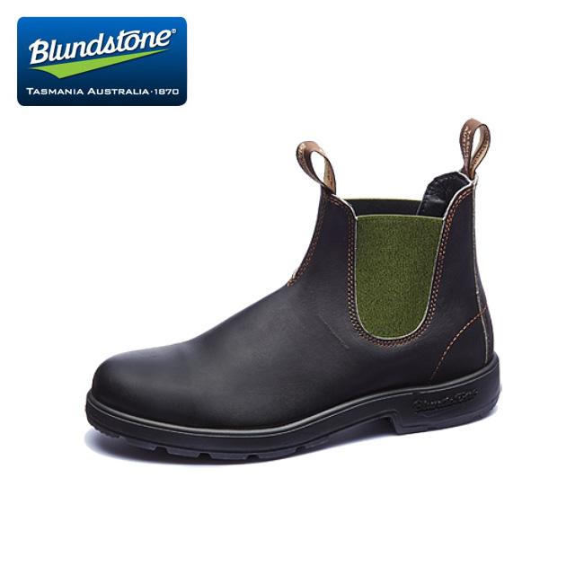 Blundstone ブランドストーン BS519 Stout Brown/Dark Green BS519408 【ブーツ/サイドゴア/アウトドア】