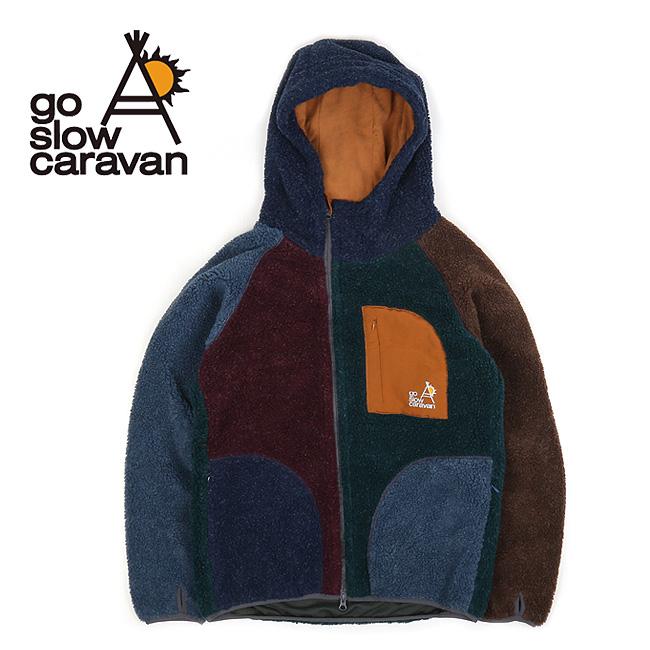 ● go slow caravan ゴースローキャラバン モヘアボアクレイジージャケット 320222 【アウター/パーカー/アウトドア】