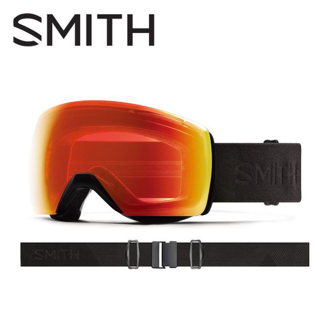 【スマホエントリー限定 P10倍 9月1日9:59まで】● 2020 スミス SMITH OPTICS Skyline XL Blackout CP Photochromic Red Mirror【調光】 10260074 【ゴーグル/日本正規品/ジャパンフィット/アジアンフィット】