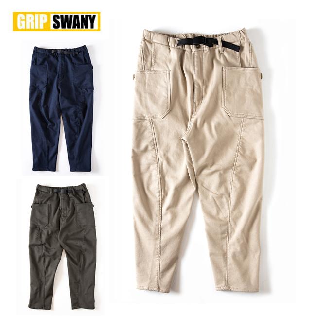 ● GRIP SWANY グリップスワニー JOG 3D LINING WIDE CAMP PANTS ジョグライニングワイドキャンプパンツ GSP-64 【ボトムス/メンズ/アウトドア】