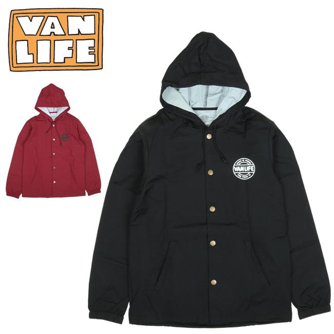 ● VAN LIFE バンライフ COACHES JACKET コーチジャケット VL-05-002 【アウター/フード/アウトドア/カジュアル】
