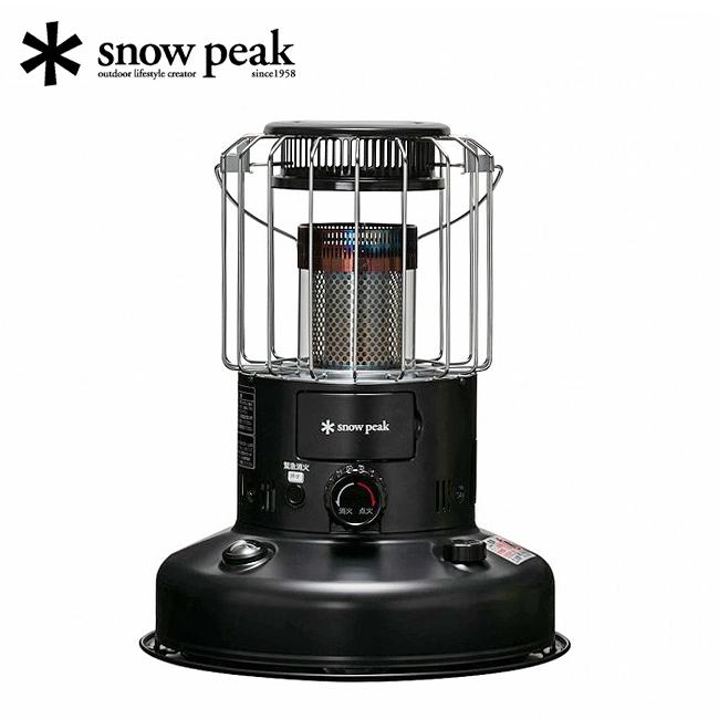 ● snow peak スノーピーク スノーピークグローストーブ KH-100BK 【アウトドア/キャンプ/円筒型】