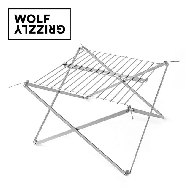 Wolf&Grizzly ウルフアンドグリズリー Grill M1 Edition with fire set グリル M1 エディション with ファイヤーセット 20330001 【焚火台/バーベキュー/キャンプ/アウトドア】