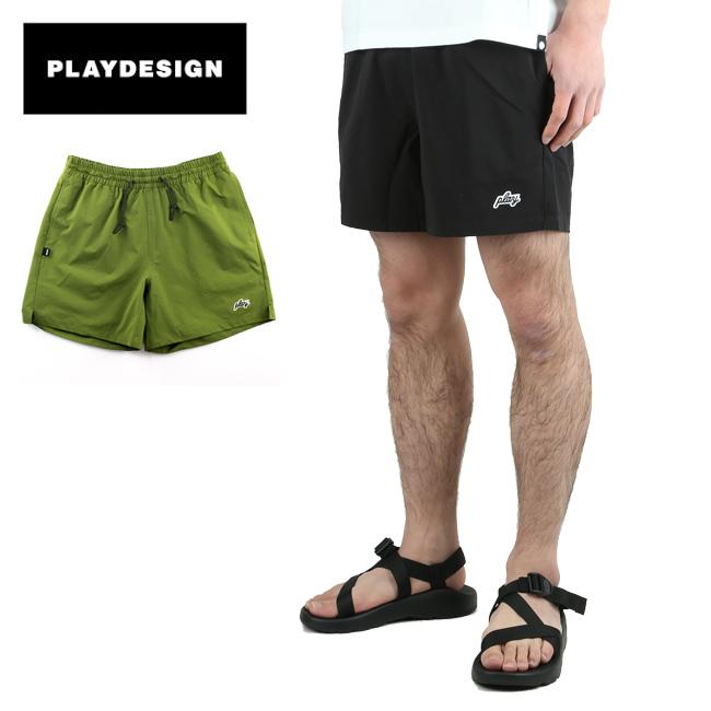 ●PLAYDESIGN プレイデザイン P01 PLAYER STRETCH S/P プレイヤーストレッチ 20SS3PSSP 【短パン/ショーツ/アウトドア/キャンプ】