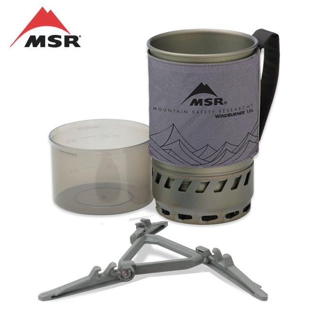 MSR エムエスアール 全国一律送料無料 ウィンドバーナーアクセサリーポット 1.0L グレー アウトドア キャンプ 鍋 無料 クッカー 36221