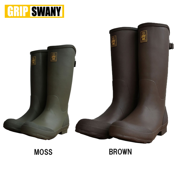 【GRIP SWANY/グリップスワニー】 ブーツ ニーブーツ/MOSS/BROWN/GSF-06 お買い得 【highball】