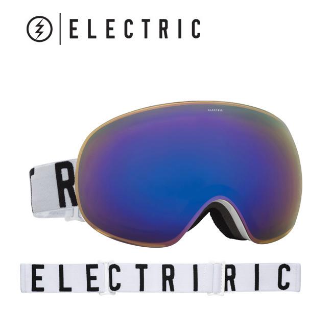 2017 ELECTRIC エレクトリック ゴーグル EG3 GLOSS WHITE/WORDMARK BROSE/BLUE CHROME EG6216108 【ゴーグル】アジアンフィット【即日発送】