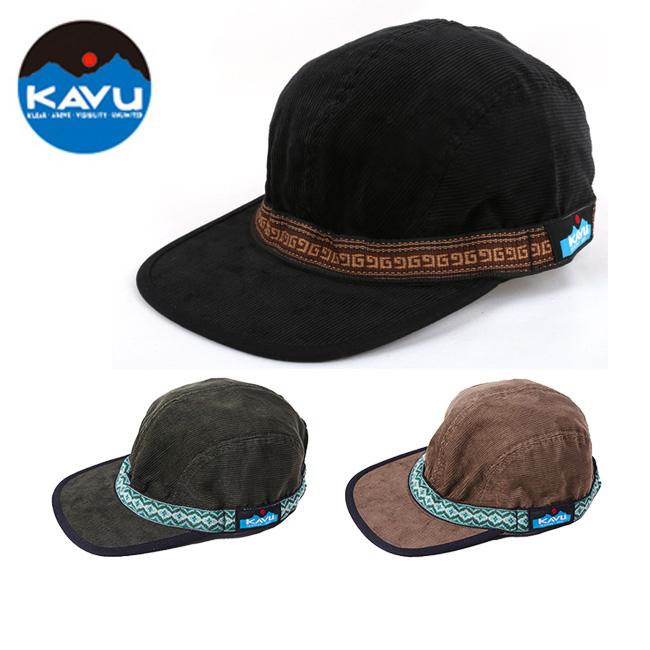 KAVU/カブー キャップ コーデュロイストラップキャップ 19820522