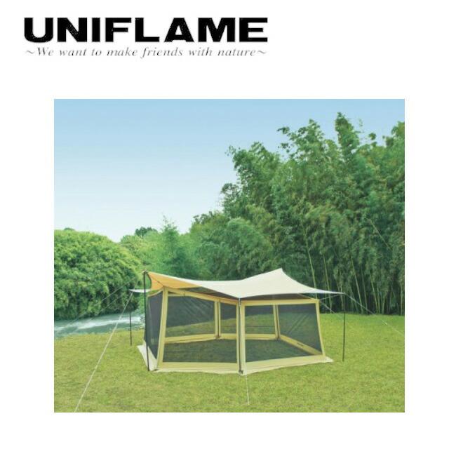 ユニフレーム UNIFLAME REVOタープ Lとメッシュウォールのセット 681688 【TENTARP】【TARP】 タープ アウトドア キャンプ お買い得! 【highball】