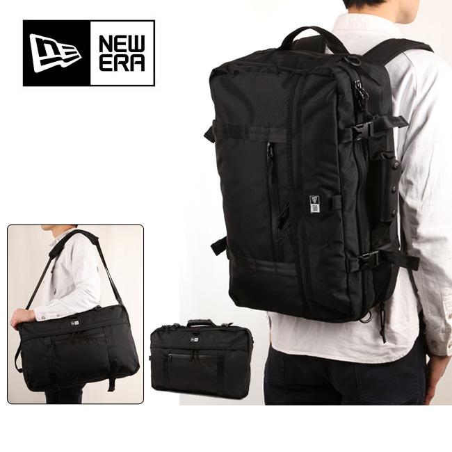 NEWERA ニューエラ 3Way Bag スリーウェイバック ブラック 11404848 【カバン】ショルダーバッグ ブリーフバッグ リュック バックパック【即日発送】