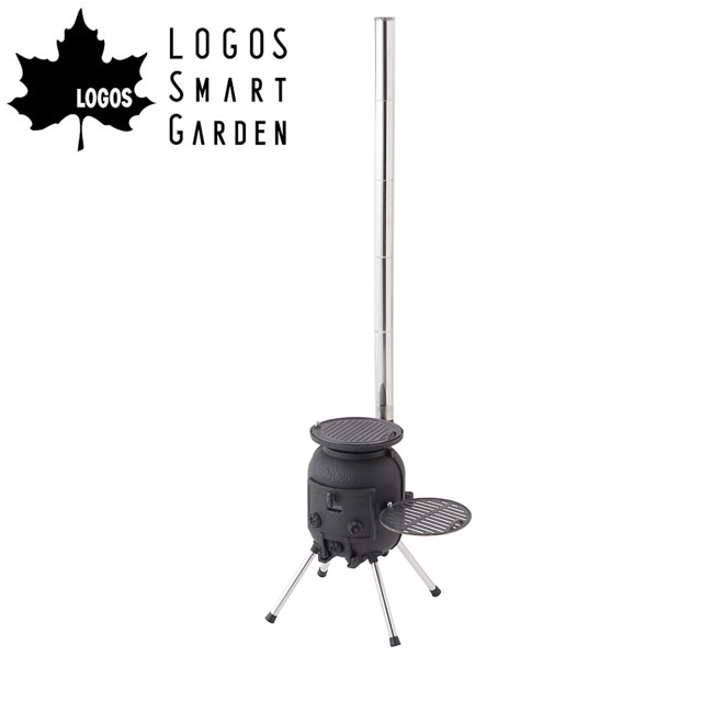 【エントリーでP10倍!7月21日20時~】ロゴス LOGOS LOGOS Smart Garden 薪ストーブグリル 81050003 【LG-GLIL】 【highball】