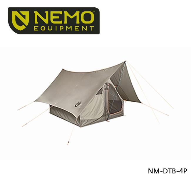 ● 【NEMO Equipment/ニーモ・イクイップメント】 テント DARK TIMBER 4P ダークティンバー 4P NM-DTB-4P 【TENTARP】【TENT】 テント キャンプ アウトドア お買い得!【即日発送】