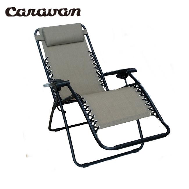 CARAVAN キャラバン Infinity Zero Gravity Chair CA-1124/BEIGE 【FUNI】【CHER】 チェア 椅子 アウトドア キャンプ 運動会【即日発送】