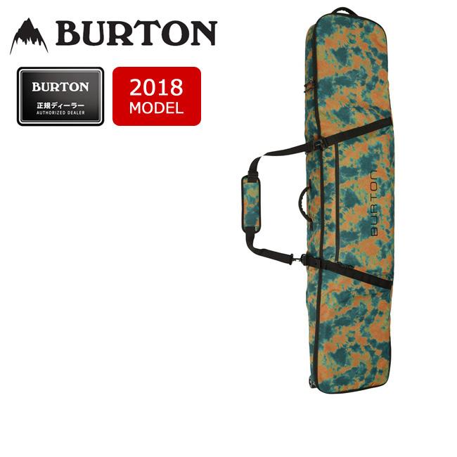 2018 BURTON バートン ボードケース WHEELIE GIG BAG MOUNTAINEER TIE DYE PRINT/10994104987 【カバン】【即日発送】