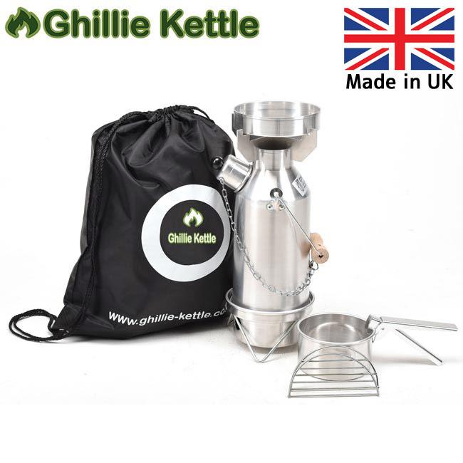 Ghillie Kettle ギリーケトル MAVERICK 0.5L フルキット ALUMINIUM (AL) 3215005 【BBQ】【GLIL】キャンプ アウトドア ボイラー 【highball】