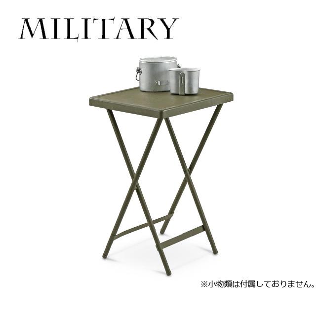 MILITARY/ミリタリー テーブル TABLE BEDSIDE FOLDING METAL 07-089-060 【雑貨】サイドテーブルベットテーブル 【highball】