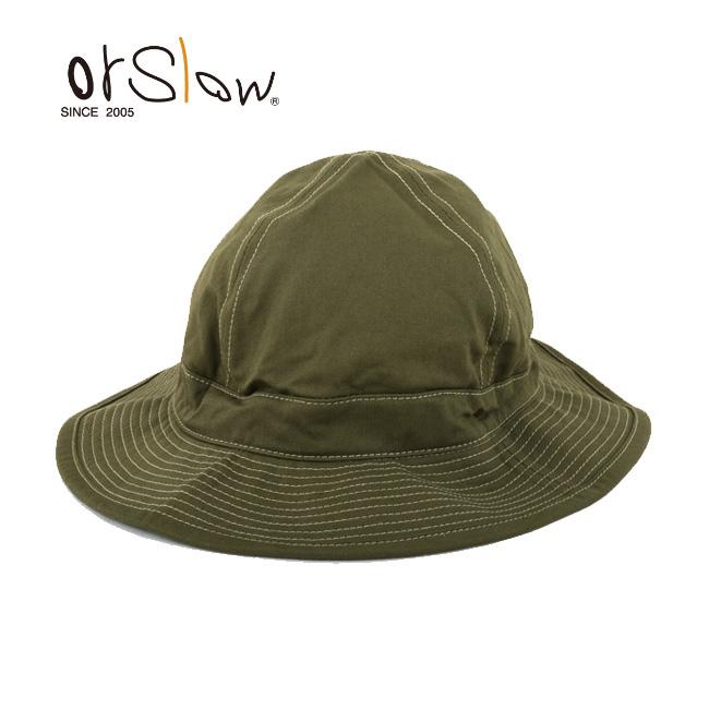 Orslow/オアスロウ ハット US NAVY HAT 03-001-16A GREEN 【帽子】メンズ レディース ユニセックス アウトドア 【highball】