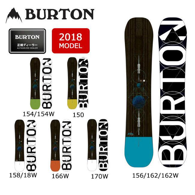 2018 BURTON バートン スノーボード 板 カスタム CUSTOM 【板】 MENS メンズ【即日発送】