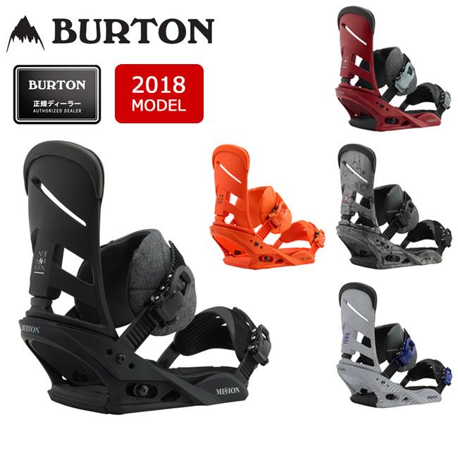 2018 BURTON バートン ビンディング MISSION Re:Flex ミッション 【ビンディング】MENS メンズ【即日発送】