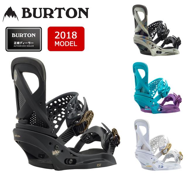 2018 BURTON バートン ビンディング LEXA EST レクサ 【ビンディング】WOMENS レディース【即日発送】