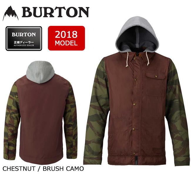 2018 BURTON バートン スノーボードウェア ジャケット MB DUNMORE JACKET CHESTNUT / BRUSH CAMO 13067103200 メンズ 【スノーウェア】【即日発送】
