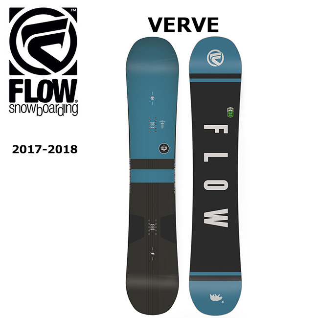 2018 FLOW フロー スノーボード 板 VERVE 【板】【即日発送】