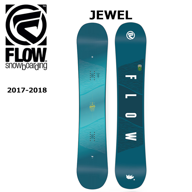 2018 FLOW フロー スノーボード 板 JEWEL 【板】【即日発送】