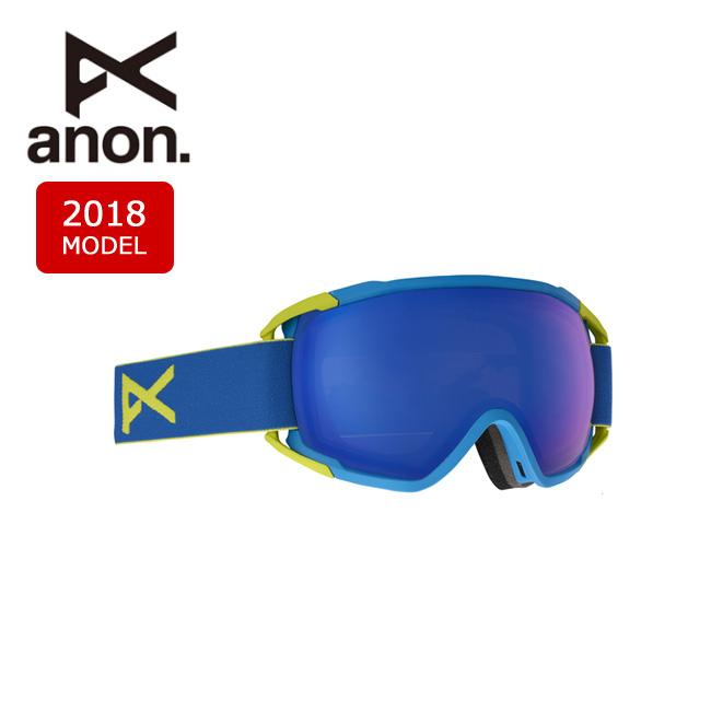 2018 ゴーグル anon アノン CIRCUIT BLUE/SONAR BLUE 【ゴーグル】日本正規品 アジアンフィット メンズ【即日発送】