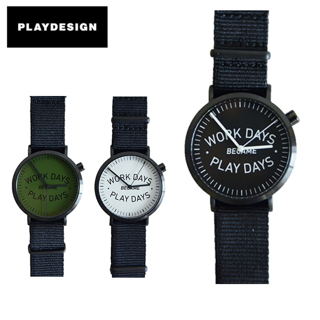 PLAYDESIGN プレイデザイン 腕時計 P01TIME WDBPD ANALOG PL-0005 【雑貨】 【highball】