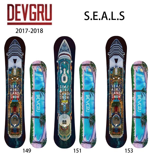 2018 DEVGRU/デブグルー スノーボード S.E.A.L.S 【板】日本正規品【即日発送】