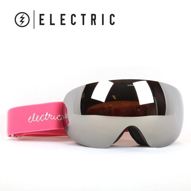 2017 ELECTRIC エレクトリック ゴーグル EG3-W PINK TORT BROSE/SILVER CHROME EG6516602 WOMENS【ゴーグル】アジアンフィット【即日発送】