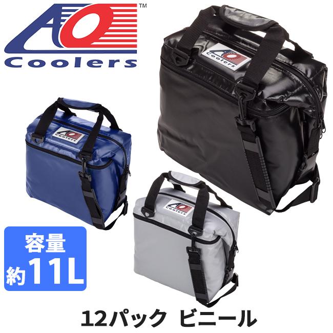 AO Coolers エーオー クーラーズ クーラーバック 12パックビニール AOFI12BK/RB/SL 【ZAKK】クーラーボックス 保冷バック アウトドア キャンプ【即日発送】
