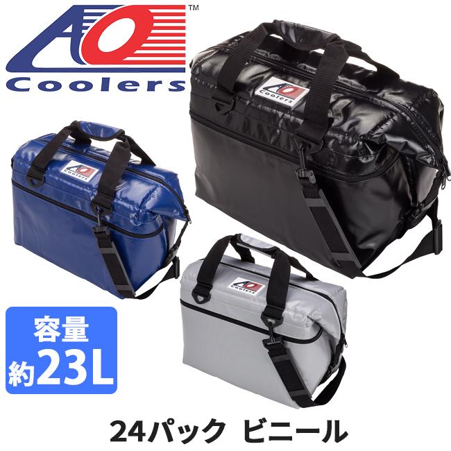 AO Coolers エーオー クーラーズ クーラーバック 24パックビニール AOFI24BK/RB/SL 【ZAKK】クーラーボックス 保冷バック アウトドア キャンプ【即日発送】