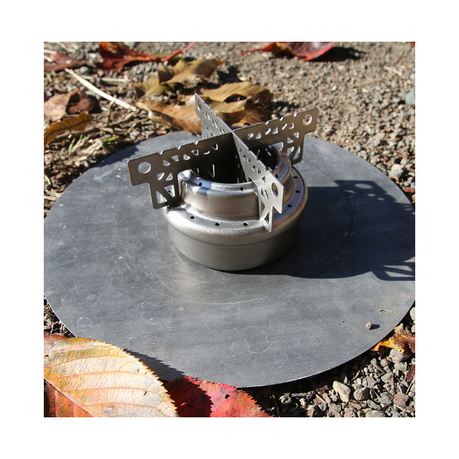 EVERNEW/エバニュー アルコールストーブ用チタン十字ゴトク  EBY253アウトドア キャンプ BBQ