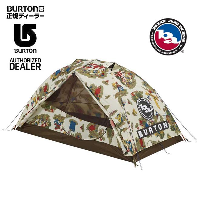 BURTON バートン BIG AGNES ビッグアグネス キャンプ テント Blacktail 2 Tent Duntadun Print 14541104966 【TENTARP】【TENT】 アウトドア キャンプ 2人用テント【即日発送】