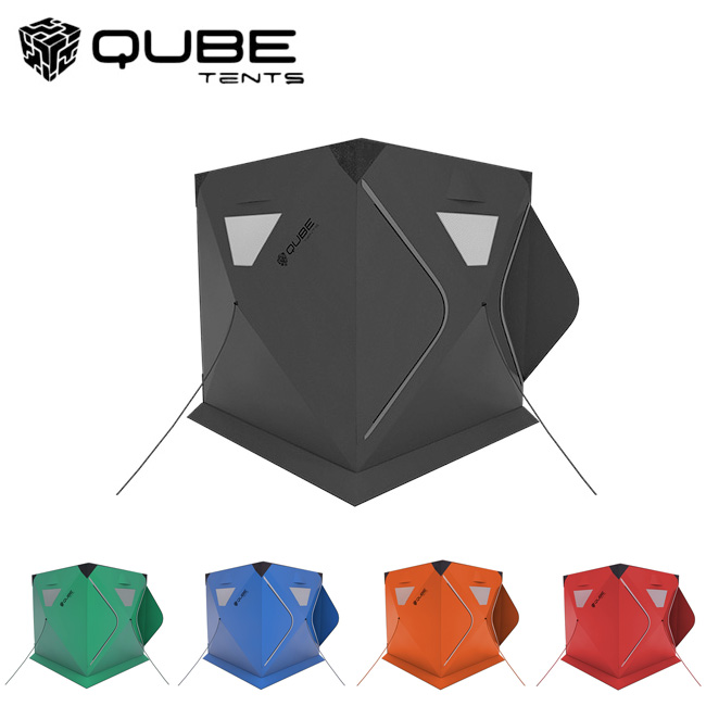 【スマホエントリー限定!ポイント10倍 7月1日10時~】QUBE TENT キューブテント 2Person Tent 二人用テント 【ワンタッチテント/クイックピッチテント】