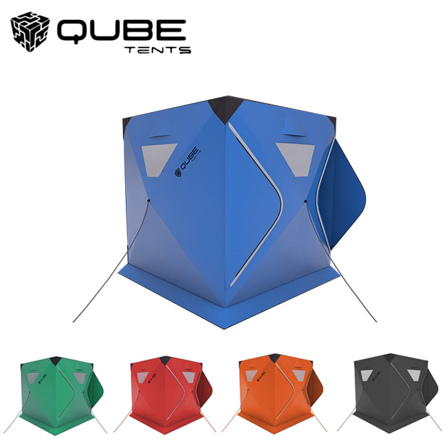 QUBE TENT キューブテント 3Person Tent 三人用テント 【ワンタッチテント/クイックピッチテント】