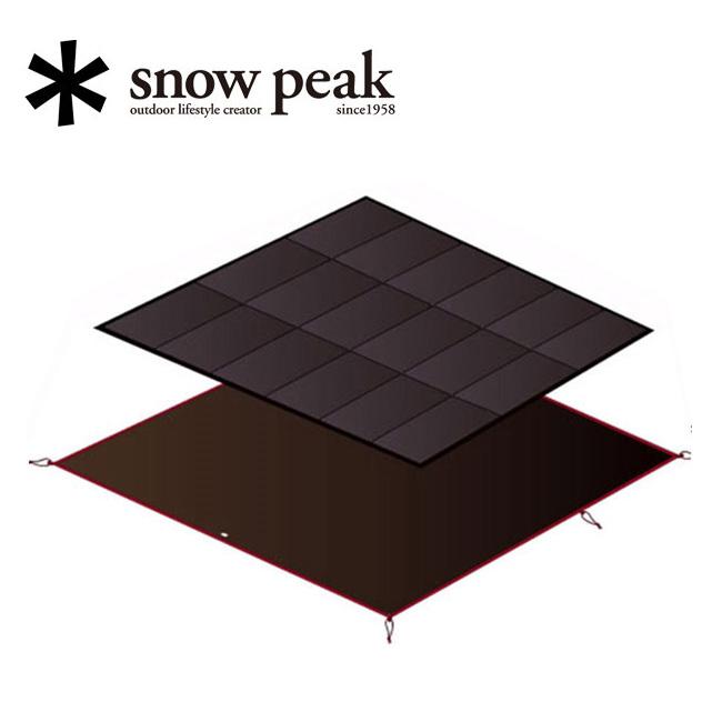 スノーピーク (snow peak) アメニティドーム マットシートセット SET-021H