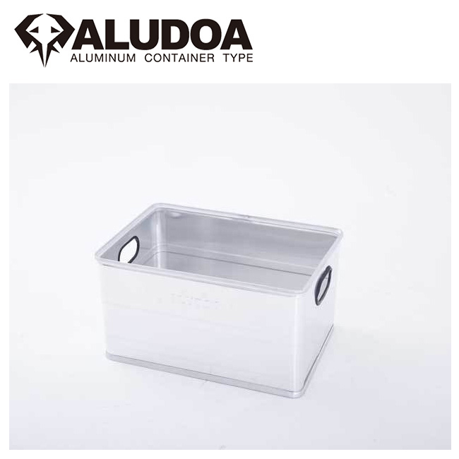 ALUDOA アルドア ALUDOA OPEN アルドア オープン (L) 1002 【コンテナボックス/アルミ/アウトドア/キャンプ/軽量/ローテーブル】