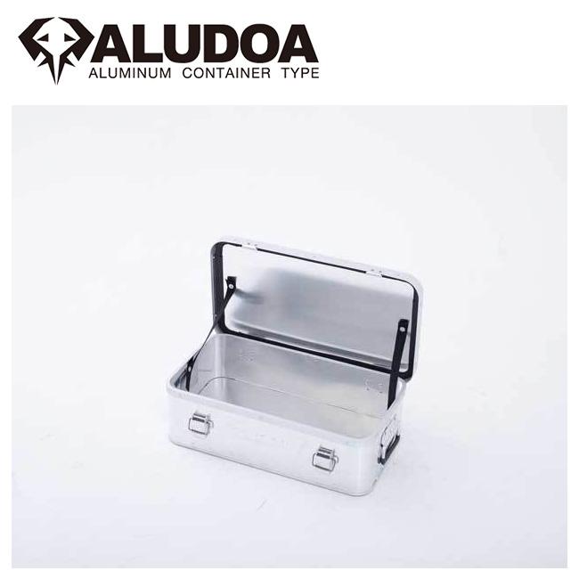 ● ALUDOA アルドア ALUDOA Standard アルドア スタンダード (S) 3004 【コンテナボックス/アルミ/アウトドア/キャンプ/軽量/ローテーブル】