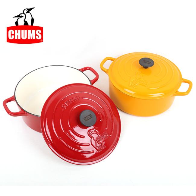 【エントリーでP10倍!7月21日20時~】CHUMS チャムス Color Dutch Oven 10 inch カラーダッチオーブン10インチ CH62-1262 【アウトドア/キャンプ】 【highball】