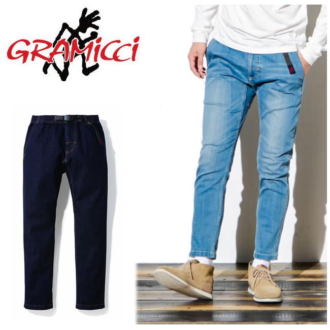 GRAMICCI グラミチ DENIM SLIM PANTS デニムスリムパンツ GMP-18F014 【アウトドア/パンツ/メンズ】