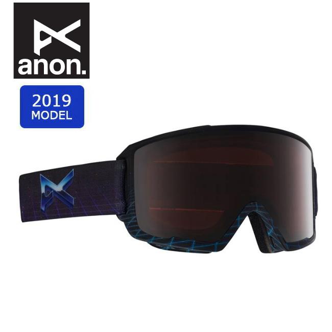 2019 anon アノン ASIAN M3 MFI W/SPR MERRILL PRO 20338100091 【ゴーグル/日本正規品/アジアンフィット/メンズ】 【highball】