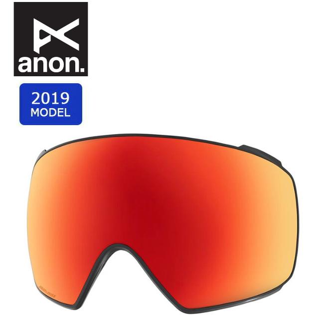 2019 anon アノン M4 TORIC SONAR LENS SONAR RED 20450100611 【スぺアレンズ/ゴーグル/日本正規品/メンズ】 【highball】